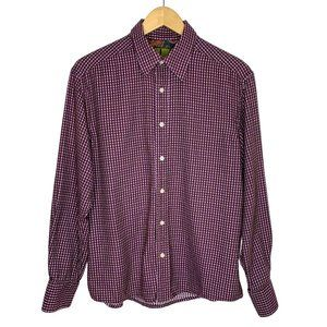Robert Graham Purple SOFT Checkered Button Shirt